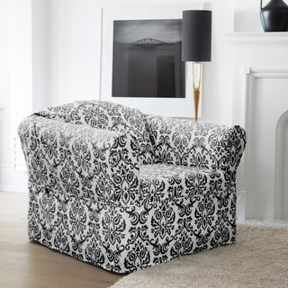 Duck Long Relaxed Fit Dining Chair Slipcover With Buttons