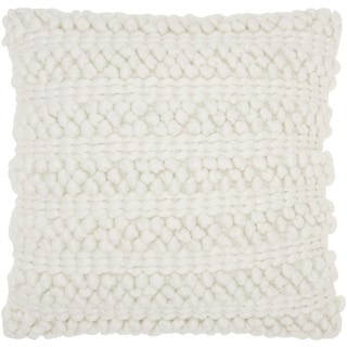 Rizzy Home Woven Southwest Patterned Wool And Cotton 18