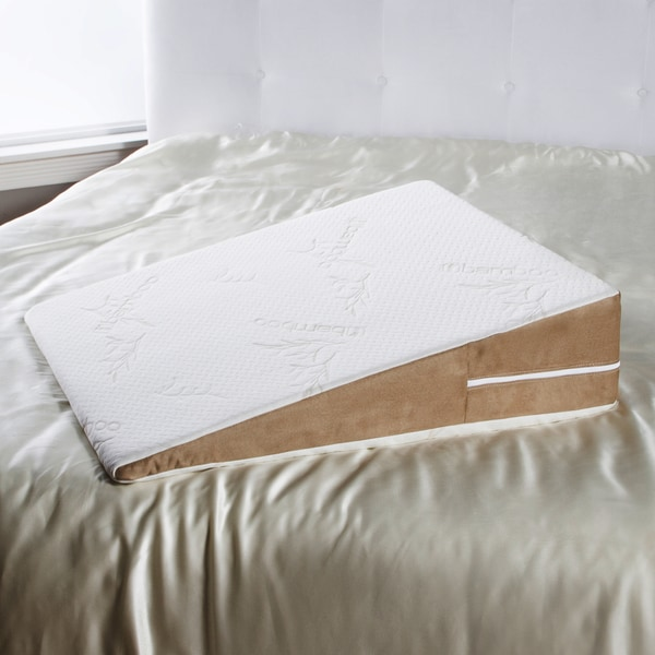 Avana Queen Size Memory Foam Wedge Pillow 18909915