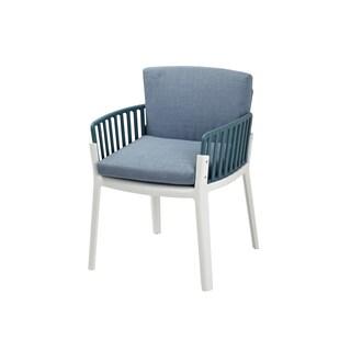 Safavieh Devona Steel Blue Arm Chair 15937040