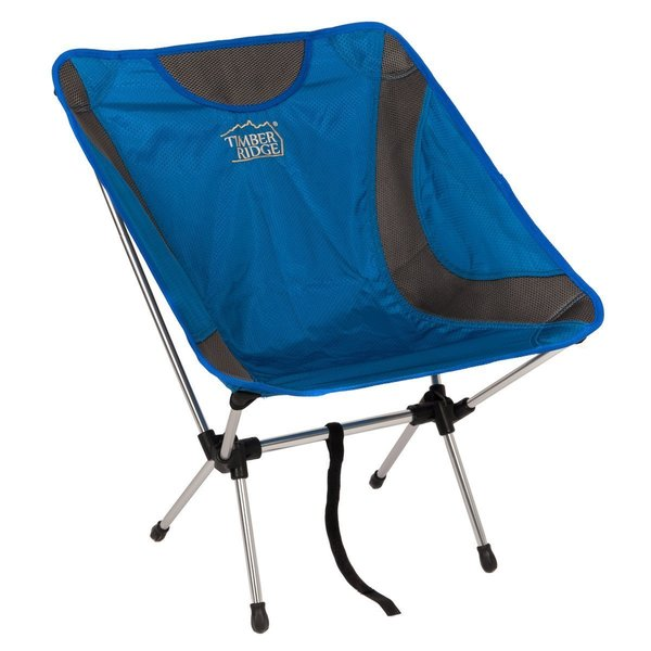Timberridge Blue Aluminum Ultra Lightweight Frame Folding