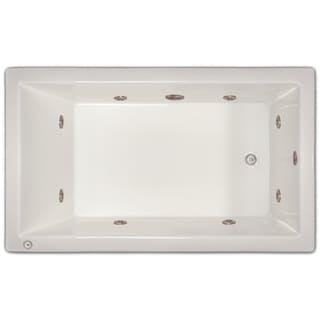 Eros White 60x32 Inch Air Tub 13589424 Overstock Com