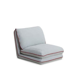 New York White Convertible Chair Bed 14317450