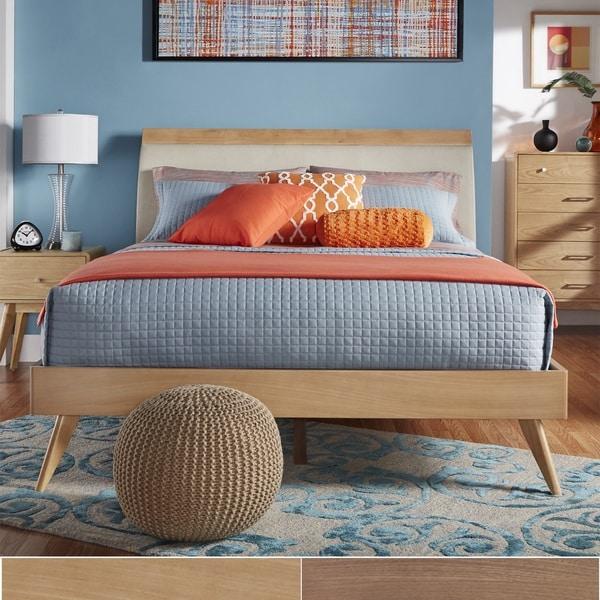 Mid Century Modern Bed: MID-CENTURY LIVING Penelope Danish Modern Tapered Platform