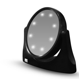 Zadro Led Lighted Flashlight Compact 1x 10x Mirror