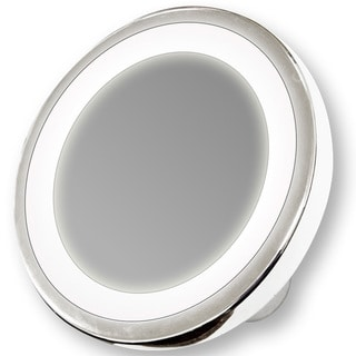 Zadaro Led Lighted 1x 10x Magnification Travel Mirror