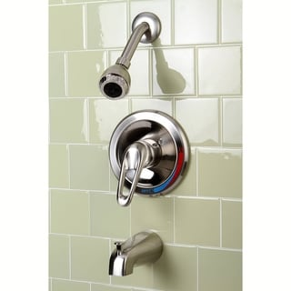 Moen Single Handle Polished Brass Tub And Shower