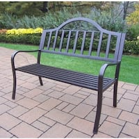 Hometown Wrought Iron Bench