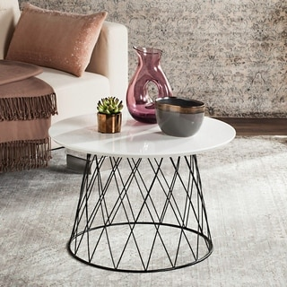 Safavieh Lena White End Table 15254362 Overstock Com