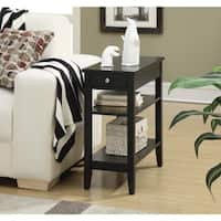 Porch & Den Bywater Villere 3-tier Single-drawer End Table