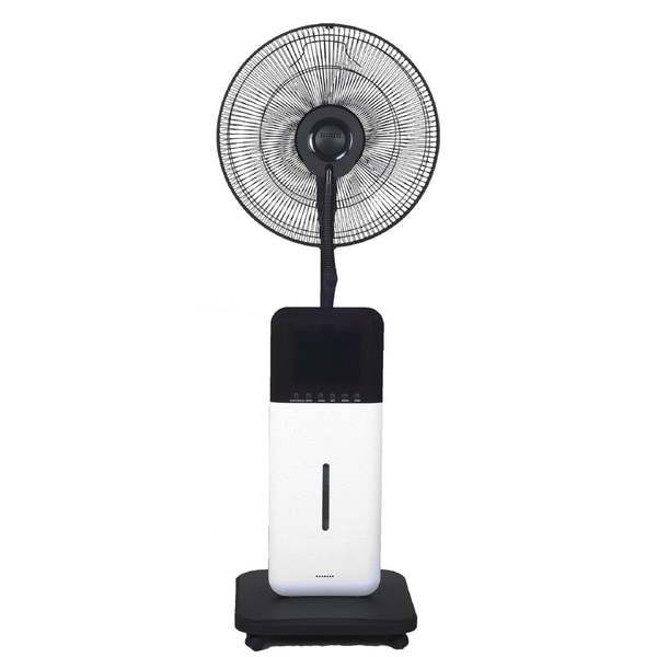 Coolzone By Sunheat Cz500 Ultrasonic Dry Misting Fan With