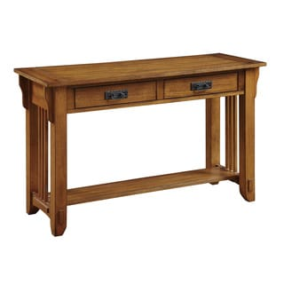Signature Design By Ashley Woodboro Dark Brown Sofa Table