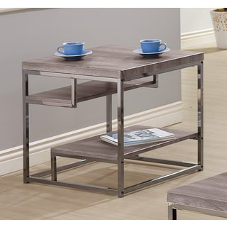 Renate Grey End Table 13506142 Overstock Com Shopping