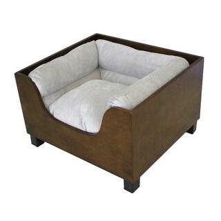 Homepop Comfy Hidden Pet Bed Ottoman Bench 17180886