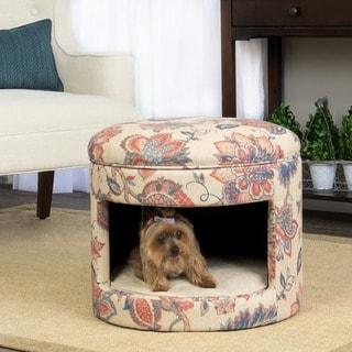 Homepop Decorative Mid Century Pet Bed 18980746