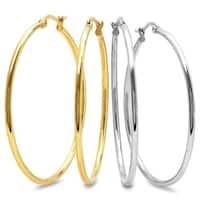 Set of 2 50mm Hoops