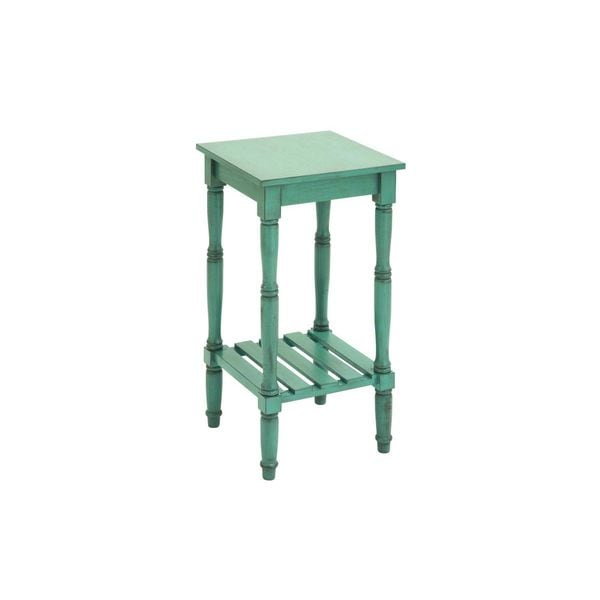 Wood Side Table 14 Inches Wide X 29 Inches High