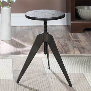 Baxton Studio Architect S Industrial Bar Stool In Antiqued