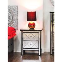Heather Ann Mirror 2-drawer Cabinet