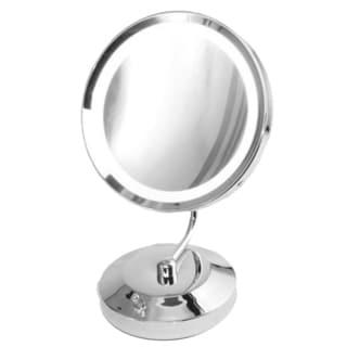 Danielle Revolving Lighted 1x 10x Wall Mount Mirror