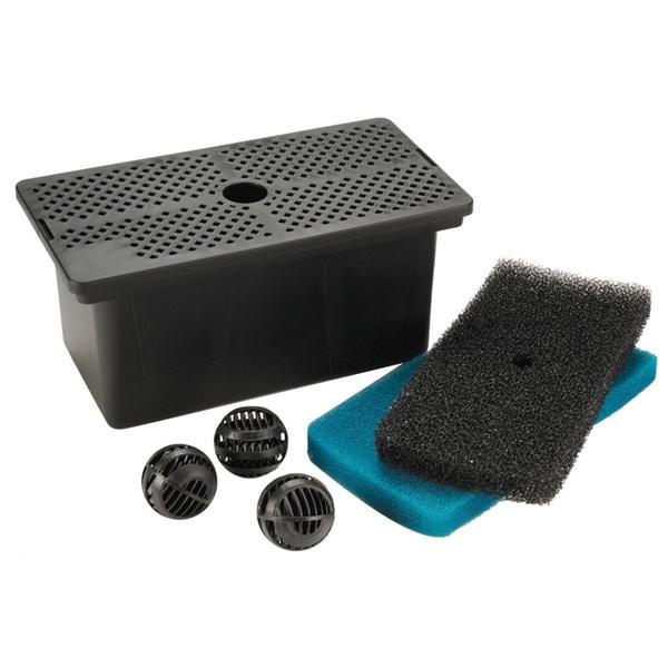 Pond boss fm002 universal pump filter box for Pond pump filter box