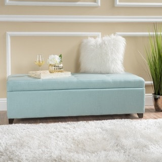 Brooke Bonjour Designer 10 Button Tufted Storage Bench