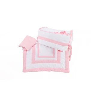 Solid Color Cradle Bedding 18053938 Overstock Com