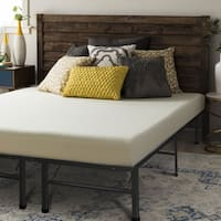 Twin size Memory Foam Mattress 6 inch with Bed Frame Set - Crown Comfort