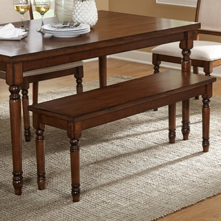 Simple Living Black Shelby Bench 16895653 Overstock