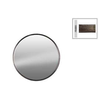 Urban Trends Collection Round Metal Mirror 15558798