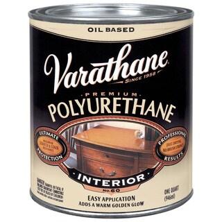 Varathane 242177H 1 Quart Oil Based Satin Polyurethane