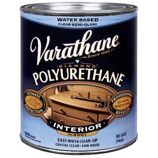 Varathane 200241H 1 Qt Satin Intr Water-Based Diamond Polyurethane Finish