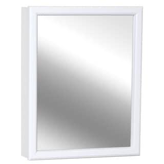 Zenith M30 White Tri View Mirror Medicine Cabinet