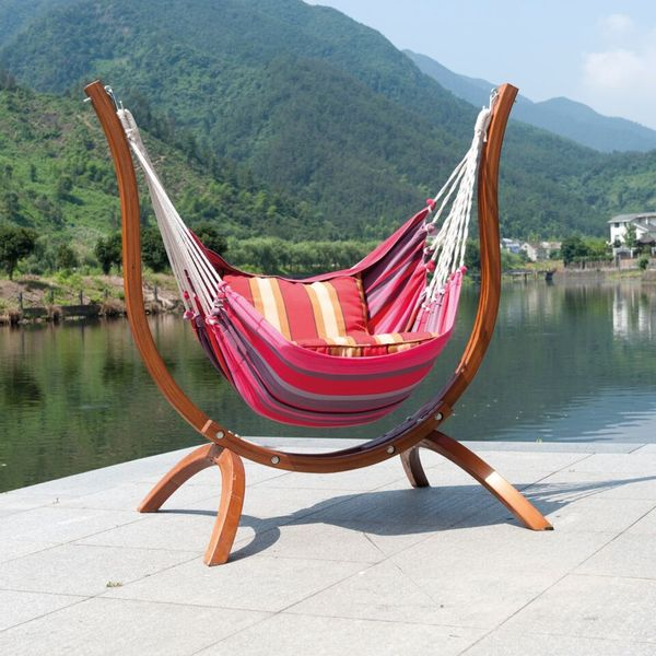 Patagonia Striped Wooden Chair Hammock 19304261