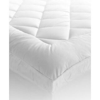Damask Stripe Pillowtop 500 Thread Count Mattress Pad