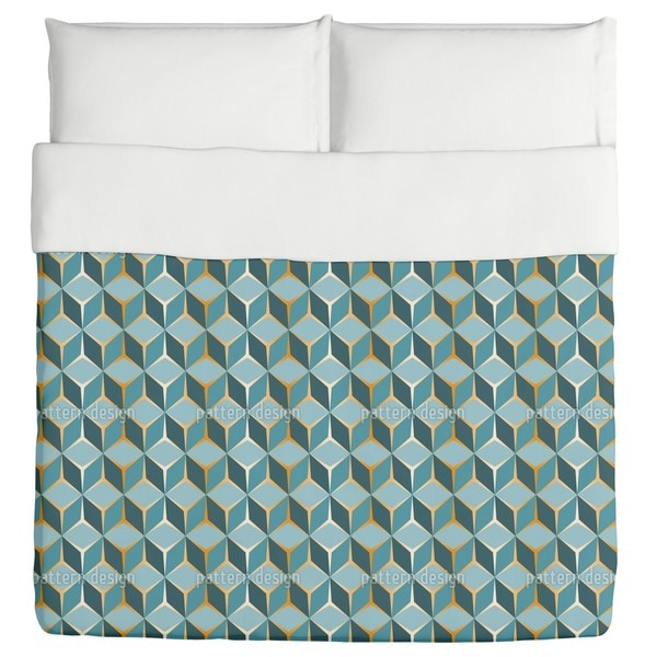 780c8db97b32 Shop Cube Perspective Duvet Cover - Free Shipping Today - Overstock.com -  12534273