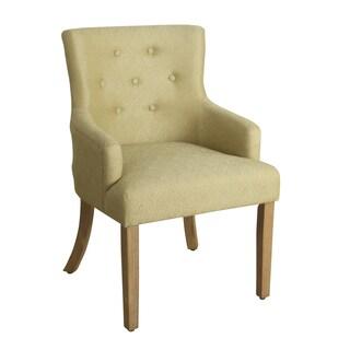 Mattie Fiesta Orange Tufted Slipper Chair 14110444