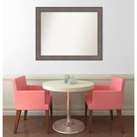 Wall Mirror Choose Your Custom Size - Medium, Country Barnwood Wood