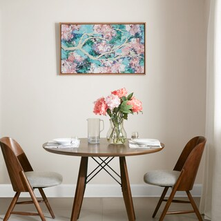 Madison Park 'Blossoming Dream' Pink Hand-embellished Canvas