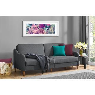 Abbyson Living London Premium Top Grain Leather Sofa And