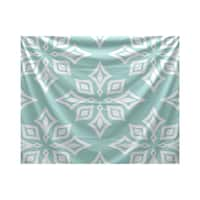 E by Design Beach Star Geometric Print Tapestry