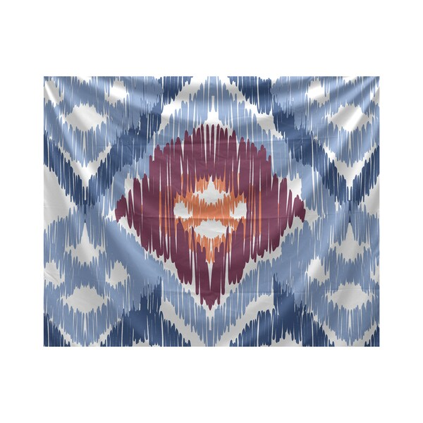 E by Design Original Geometric Print Tapestry