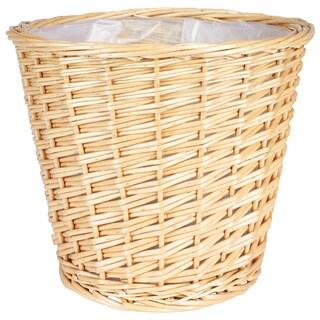 Medium Willow Waste Basket