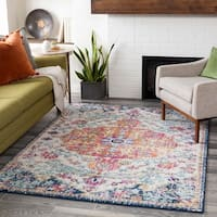 Caressa Bright Vintage Boho Area Rug - 7'10 x 10'3