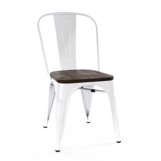 Silver Tabouret Stacking Chairs Set Of 4 12950045