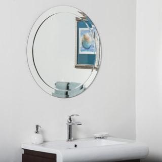 Montreal Modern Bathroom Mirror 13434585 Overstock Com