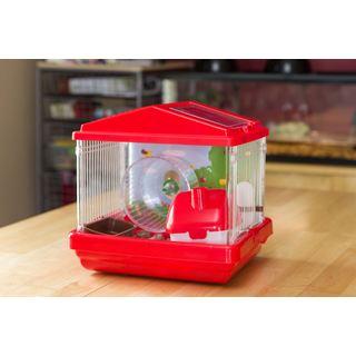 Iris USA Inc. Plastic and Wire Medium Hamster Cage