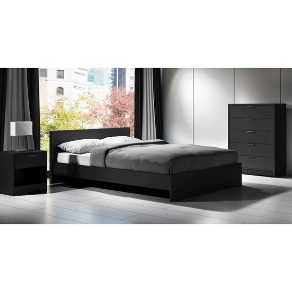 Stellar Home Furniture Euro Queen Platform Bed And Headboard