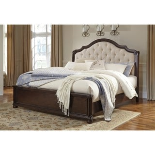 Signature Design By Ashley Huey Vineyard Black Sleigh Bed 16557608 Overstock Com Shopping