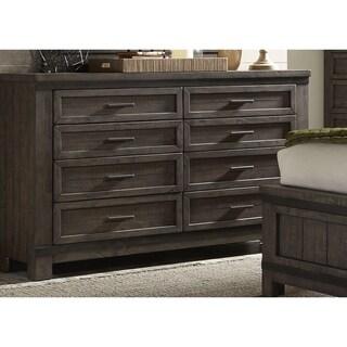 Thornwood Hills Rock Beaten Gray 8-Drawer Dresser